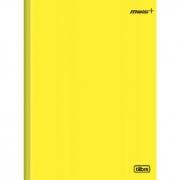 Caderno Brochura Capa Dura Mais Amarelo 48 Folhas Tilibra
