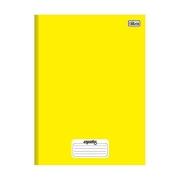 Caderno Brochura Capa Dura Mais Amarelo 96 Folhas Tilibra