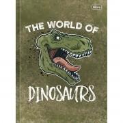 Caderno Brochura Capa Dura Raptor 80 Folhas Tilibra