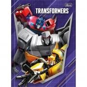 Caderno Brochura Capa Dura Transformers 80 Folhas Tilibra