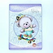 Caderno Brochura Furry Bear 96 Folhas Máxima