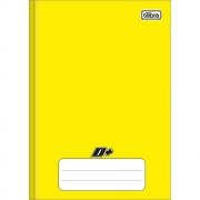 Caderno Brochura Pequeno D+ Amarelo 96 Folhas Tilibra