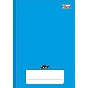 Caderno Brochura Pequeno D+ Azul 96 Folhas Tilibra