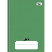 Caderno Brochura Pequeno D+ Verde 96 Folhas Tilibra