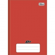 Caderno Brochura Pequeno D+ Vermelho 48 Folhas Tilibra