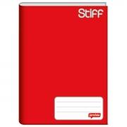 Caderno Brochura Pequeno Stiff Vermelho 48 Folhas Tilibra