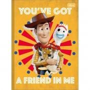 Caderno Brochura Pequeno Toy Story 80 Folhas Tilibra