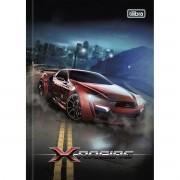 Caderno Brochura Pequeno X-Racing 96 Folhas Tilibra