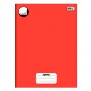 Caderno Brochura Sem Pauta Mais Vermelho 96 Folhas Tilibra