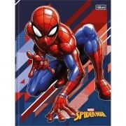 Caderno Brochura Spider-Man 80 Folhas Tilibra