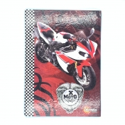 Caderno Brochura X-Moto 96 folhas Máxima