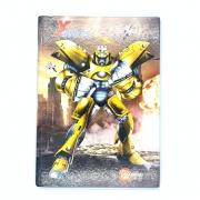 Caderno Brochura X Robots 96 Folhas Máxima