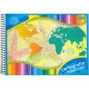 Caderno De Desenho Espiral Basic Art 96 Folhas Jandaia