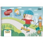 Caderno De Desenho Espiral Sapeca 96 Folhas Tilibra