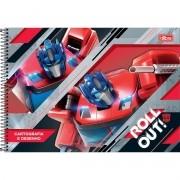 Caderno De Desenho Espiral Transformers 80 Folhas Tilibra