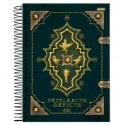 Caderno Espiral Pequeno Animais Fantásticos 96 Folhas Jandaia