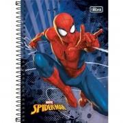 Caderno Espiral Pequeno Spider Man 80 Folhas Tilibra