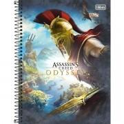 Caderno Espiral Universitário Assassins Creed 80 Folhas Tilibra