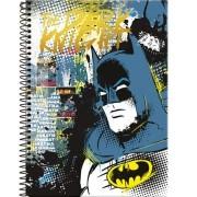 Caderno Espiral Universitário Batman 96 Folhas Foroni