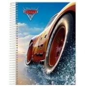 Caderno Espiral Universitário Carros 96 Folhas Foroni