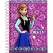 Caderno Espiral Universitário Frozen 96 Folhas Jandaia