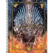 Caderno Espiral Universitário Game Thrones 80 Folhas Tilibra