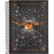 Caderno Espiral Universitário Harry Potter 96 Folhas Jandaia