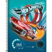 Caderno Espiral Universitário Hot Wheels 80 Folhas Tilibra