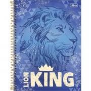 Caderno Espiral Universitário O Rei Leão 80 Folhas Tilibra
