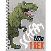Caderno Espiral Universitário Raptor 80 Folhas Tilibra
