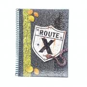 Caderno Espiral Universitário Route 10 Matérias Máxima