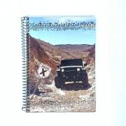 Caderno Espiral Universitário Route 96 Folhas Máxima