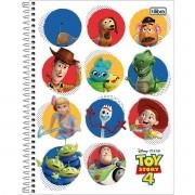 Caderno Espiral Universitário Toy Story 80 Folhas Tilibra