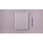 Caderno Lilas Pastel Grande CIGD4080 Caderno Inteligente
