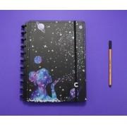 Caderno Poeira Das Estrelas Grande Caderno Inteligente