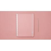 Caderno Rose Pastel Grande CIGD4081 Caderno Inteligente