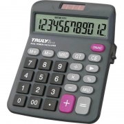 Calculadora De Mesa 12 Dígitos 833-12 Trully