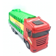 Caminhão Garbage Truck 419 Orange Toys