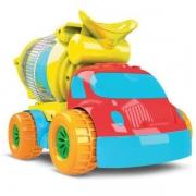 Caminhão Robustus Kids Betoneira De Bolinhas 8011 Divertoys