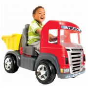 Caminhao Truck Vermelho Pedal 9300C Magic Toys