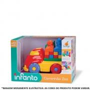 Caminhão Zoo 534 Orange Toys