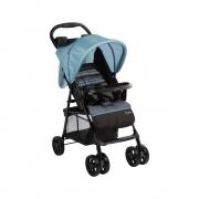Carrinho De Bebê Berço E Passeio Spot Azul Geo Voyage