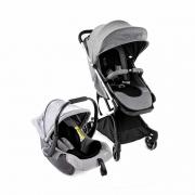 Carrinho E Bebê Conforto Legend TS Duo Grey Bold Infanti