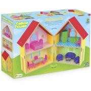 Casinha De Boneca Yellow House 412 Junges