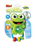Chocalho Amigo Sapinho Zoop Toys