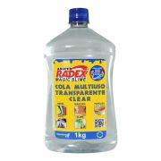 Cola Escolar Para Slime Transparente 1kg  Radex