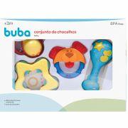 Conjunto De Chocalhos Baby 0008 Buba
