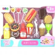 Conjunto Guloseimas R2961 BBR Toys