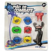 Conjunto Pião De Batalha R2980 BBR Toys