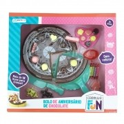 Creative Fun Bolo De Chocolate Com Velcro BR649 Multilaser